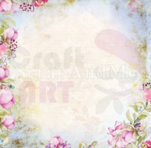 Papier do scrapbookingu Romantic Garden Part1 03/04