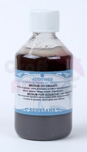 Medium do gwaszu 100 ml Renesans