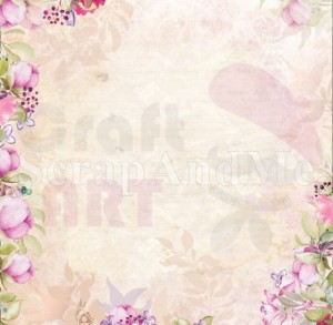 Papier do scrapbookingu Romantic Garden Part1 07/08